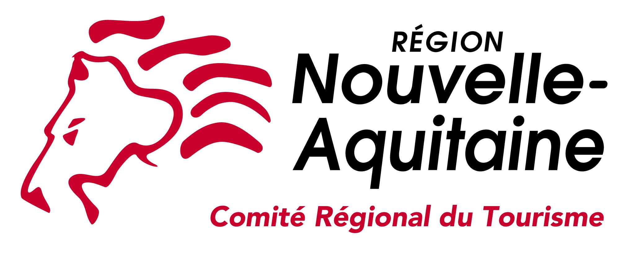 logo du comité régional du tourisme de Nouvelle-Aquitaine